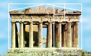 パルテノン神殿_フィボナッチ数列